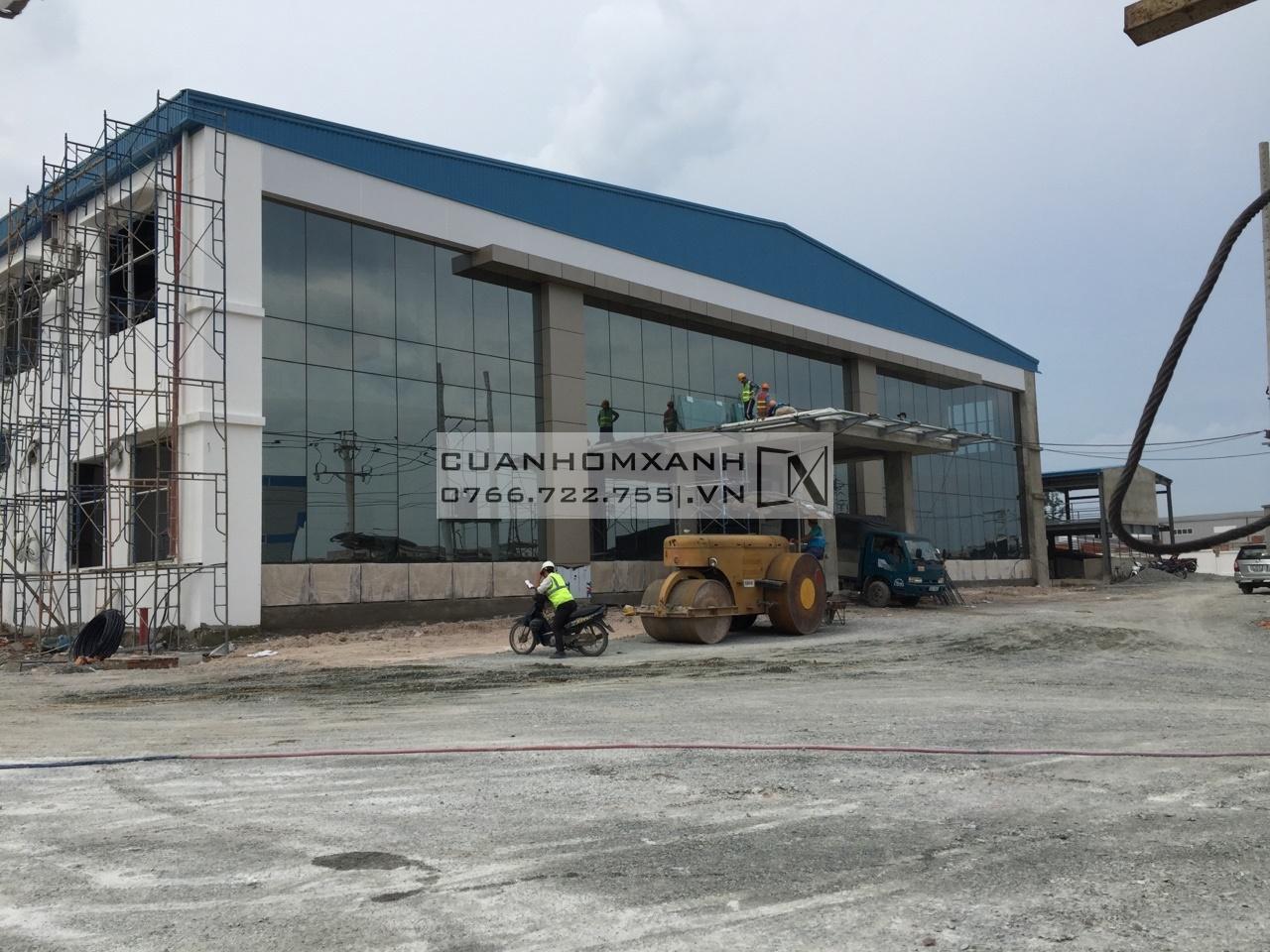 Mặt dựng nhôm Xingfa hệ 65 nhập khẩu