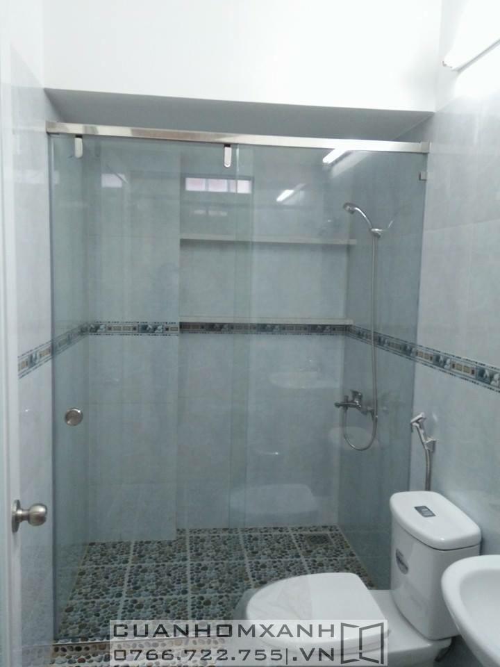 Phòng tắm kính mở trượt (lùa)