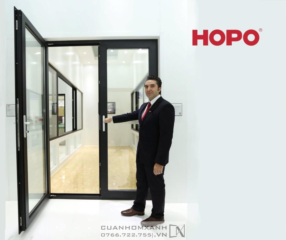Cửa Nhôm Hopo nhập khẩu Mỹ
